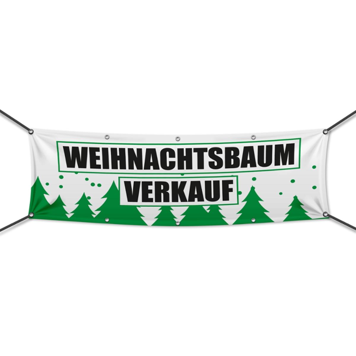 Werbebanner Werbeplane verschiedene Größen PVC Feuerwerksverkauf v1 Banner