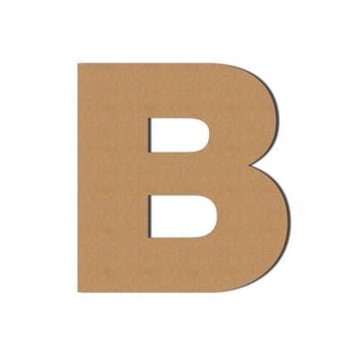 Pappe   Großbuchstaben, Dekoration, Wellpappe, Buchstaben aus...